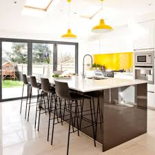 white kitchens ideal home add a colour splash