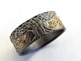celtic mens wedding bands unique viking ring celtic wedding band tree of ring