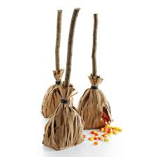 Halloween Treat Bag Ideas For Toddlers Witch U0027s Broom Favors Martha Stewart