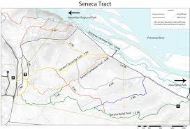 Virginia Rivers Map by Seneca Regional Park Nova Parks