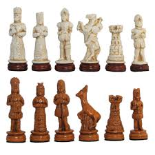 european chess pieces throughout history