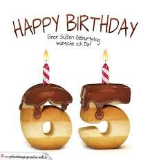 geburtstagssprüche 65 happy birthday in keksschrift zum 65 geburtstag