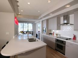 galley kitchen ideas decor with best color cabinets for small