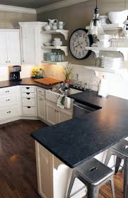 backsplash with black granite tags unusual black kitchen