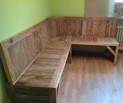 Patio Furniture Made Out Of Wooden Pallets by Pallet Corner Bench 6 Steps