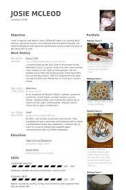 Chef Resume Samples