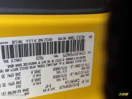 2007 ram 1500 color code pyb for detonator yellow photo 99902740