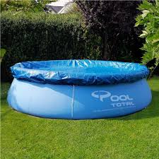8ft swimming pool cover round family paddling fast set garden