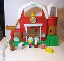 Fisher Price Little People Barn Set Little People Farm Set Ebay