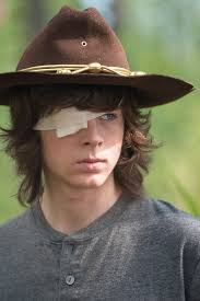 Carl Grimes Halloween Costume Carl Sports Eye Patch Walking Dead Season 6 Episode 10