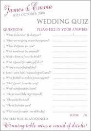 Bride Cards 15 X Fully Personalised Wedding Bride U0026 Groom Quiz Cards Fun For