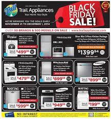 appliances black friday trail appliances canada flyers