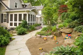 kid u0027s play area by cording landscape design cording landscape design