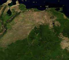 Map Of Venezuela Detailed Satellite Map Of Venezuela Venezuela Detailed Satellite