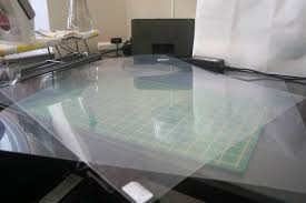 Plastic Template Sheets Is Caring A Tip For Cutting Out