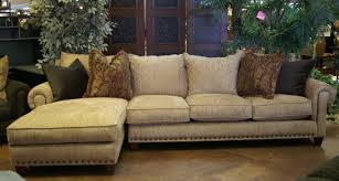 Oversized Leather Sofas by Furniture Elegant Beige Oversized Sectionals Sofa With Nailhead