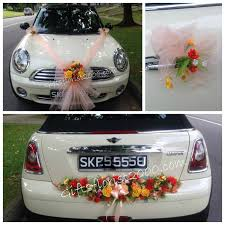 wedding car decorations wedding car dcor wedding arrangement wedding flowers singapore wedding