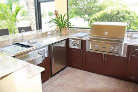 outdoor kitchen cabinets polymer stainless steel classic 33 in