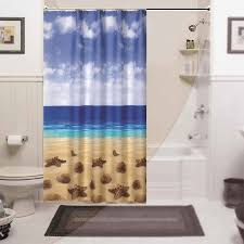 Themed Fabric Shower Curtains Fabric Shower Curtains With Theme Useful Reviews Of Shower