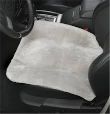 genuine sheepskin car seat cushion pad auto cushion seat cover