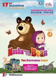 masha bear live malta visitmalta official