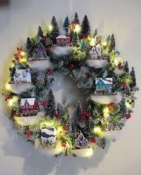 christmas villages creative christmas villages