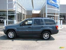 light blue jeep 2004 steel blue pearl jeep grand cherokee laredo 4x4 3796473