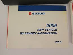 amazon com 2006 suzuki forenza owners manual suzuki automotive
