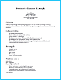 Combination Resume Samples Pdf by Bartender Resume Sample No Experience Free Resume Example And