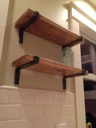Diy Restoration Hardware Reclaimed Wood Shelf by Best 25 Shelving Brackets Ideas On Pinterest Shelf Brackets