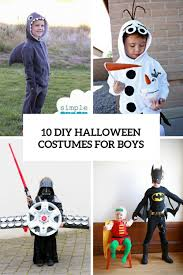 10 cool and fun diy halloween costumes for boys shelterness