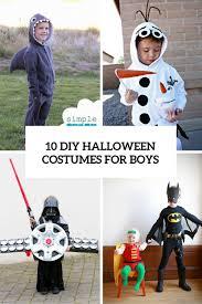 Boys Halloween Costumes 10 Cool Fun Diy Halloween Costumes Boys Shelterness