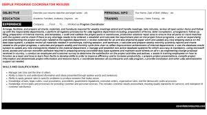 global mobility program coordinator job resumes u0026 cover letters