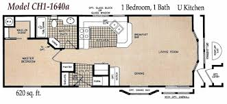 Jacobsen Mobile Home Floor Plans by One Bedroom Mobile Homes Fallacio Us Fallacio Us