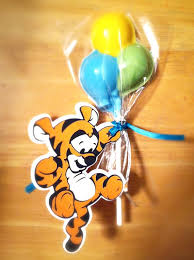 4 tigger winney the pooh favor tags by lovelaughtercrafter