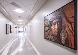 new medical clinic pays tribute to native indian tribe u0027s culture