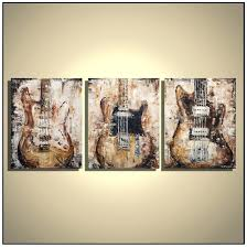 wall ideas music themed wall decor and art metal musical notes musical notes wall stickers decals art decor guitar painting music wall art rustic decor brown guitar original palette knife guitar painting on canvas
