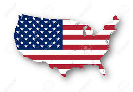 Map Of The Usa States by High Resolution Map Of The Usa With American Flag You Can Easily