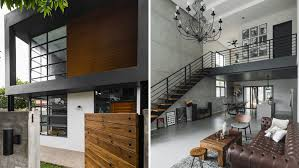 industrial house style rules this modern minimalist industrial home rl