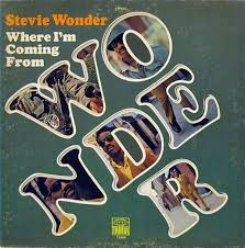 album cover of the week stevie where i m coming from