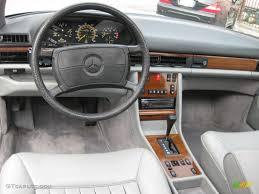 mercedes s class 1986 1986 mercedes s class 420 sel grey dashboard photo 66031218