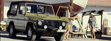 history of the mercedes g class history