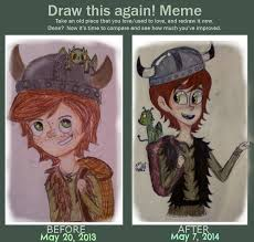 Toothless Meme - draw this again meme hiccup and toothless by thetruffulacupcake