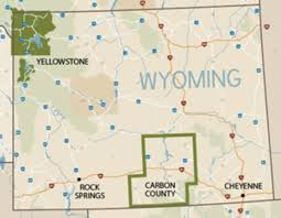 Sheridan Wyoming Map Carbon County Wyoming U0027s Scenic Drives And Springs My