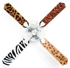 zebra print ceiling fan kids ceiling fan room jungle animal print playroom pinterest
