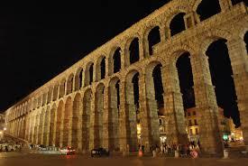 the aqueduct of segovia u2013 roman engineering in small town spain