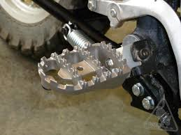 sw motech on road off road footpegs for kawasaki klr650 u002786 u002717
