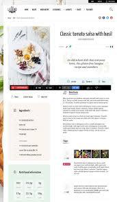 site cuisine facile cuisine template cuisine modã le de site de cuisine de cuisine