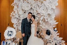 wedding backdrop design singapore and josh s parisian garden wedding at grand hyatt singapore