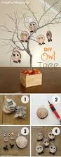 20 best diy fall decor ideas to decorate your home in style easy to make cute diy owl tree for fall decor istandarddesign